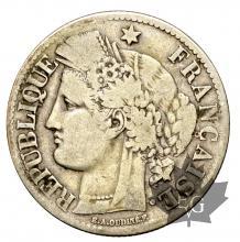 France - 2 francs argent Cérès