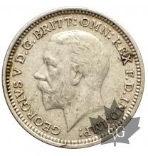 Royaume Uni-3 Pence silver- George V-1921-1934