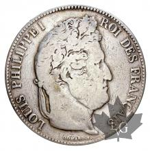 France - 5 francs Louis Philippe Ier