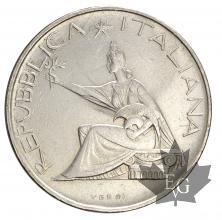 Italie-500 lire-Unità d'Italia-1961-silver