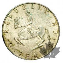 Autriche-5 Shillings-annés mixtes