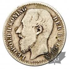 Belgique - 1 franc argent