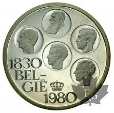 Belgique-500 Francs-1980-PROOF