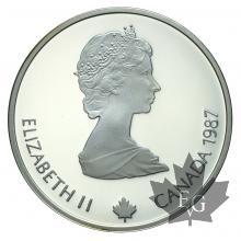CANADA-20 DOLLARS-Calgary Olympics