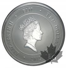 Fiji-5oz silver-5onces-argent