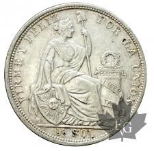 Peru-1/2 SOL-1907-1917