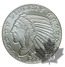 USA-1 once Indian head-tête indien-Silver